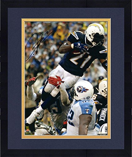 Framed LaDainian Tomlinson San Diego Chargers Autographed 16