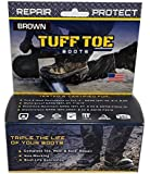 Tuff Toe Polyurethane Work Boot & Shoe Protector/Guard Waterproof - Brown