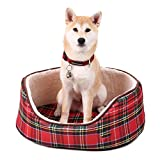 Hot Sale Fashion Pets Bed For Puppies Very Soft Dog Beds Suitable For All Size Pet House Bed Mat Cat Sofa Supplies Red 60x45x21