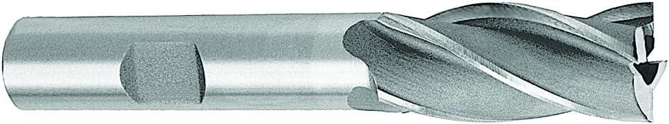 1-3//4 x 3//4 Shank 6F HSS Single End Mill