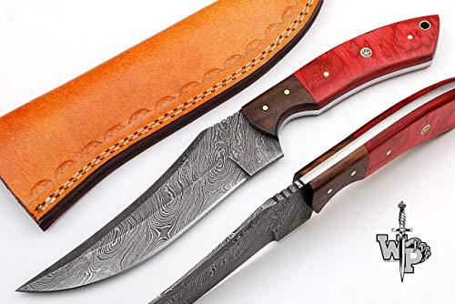 (World Points Full Tang Handmade Custom Damascus Steel 11