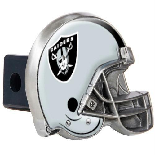 Oakland Raiders NFL Metal Helmet Trailer Hitch (Afc Helmets)