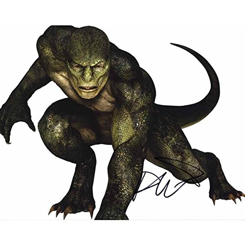 Rhys Ifans 'Spiderman' 'The Lizard' Signed 8x10 Photo Certified Authentic PSA/DNA COA