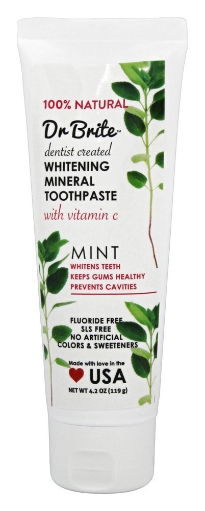 Dr. Brite Toothpaste, Refreshing Mint, 4.2 Ounce