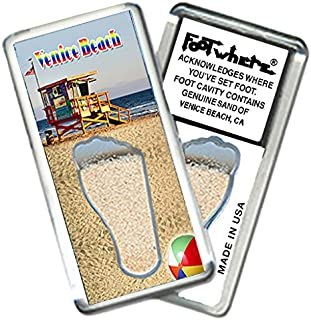 """product image for Venice Beach""""FootWhere"""" Fridge Magnet. Made in USA (VB202 - Guard House)"""