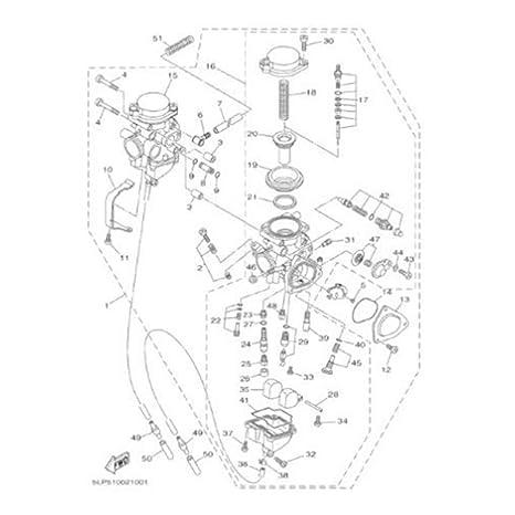 Yamaha Raptor 660 Carburetor Diagram