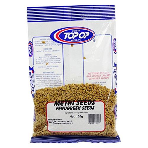 (TOP OP - Fenugreek Methi Seeds - Skin and Hair Care Ayurvedic Powder Recipe - 100% Organic - 100)