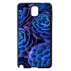 Blue Flowers The Unique Printing Art Custom Phone Case for Samsung Galaxy Note 3 N9000,diy cover case ygtg611937