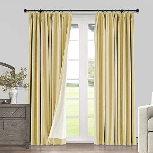 Macochico Room Darkening Curtains 100 Blackout Drape