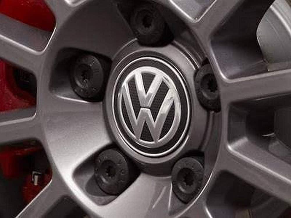 Genuine Wheel Center Hub Cover Chrome black VW Beetle 2012