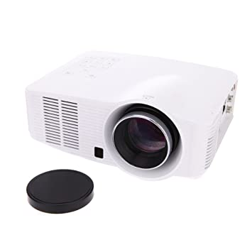 Andoer® 1800 lúmenes Full HD 1080P LED Proyector Inteligente ...
