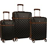 """Anne Klein Greenwich Three Piece Hardside Luggage Set (20""""/24""""/28"""")"""