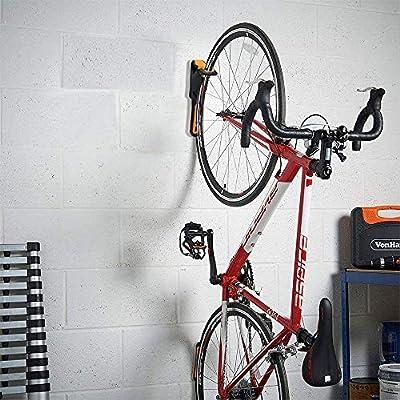 GRJKZYAM Soporte Bicicleta Suspensión, Soportes De Almacenamiento para Bicicletas Colgante Hogar Y Garaje Montaje En La Pared, Máximo 40Ib,Amarillo: Amazon.es: Deportes y aire libre