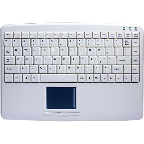 (Adesso AKB-410UW - SlimTouch Mini USB Keyboard with Built-in Touchpad)