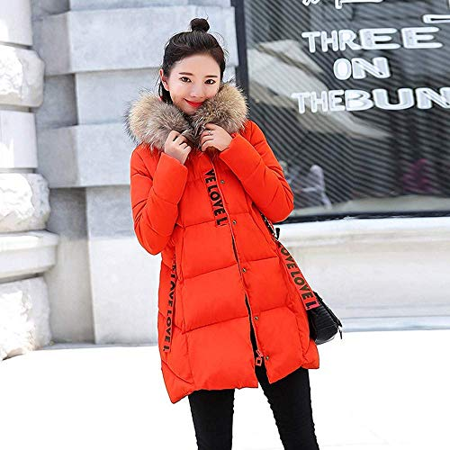 hot sale online de48b 252c4 50%OFF Kapuzenmantel Damen Mantel Wintermantel Winterparka ...