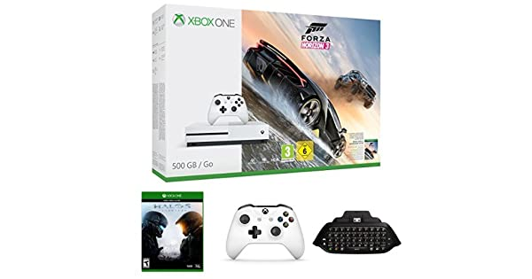 Xbox One - Consola S 500 GB Forza Horizon 3 + Halo 5: Guardians + ...