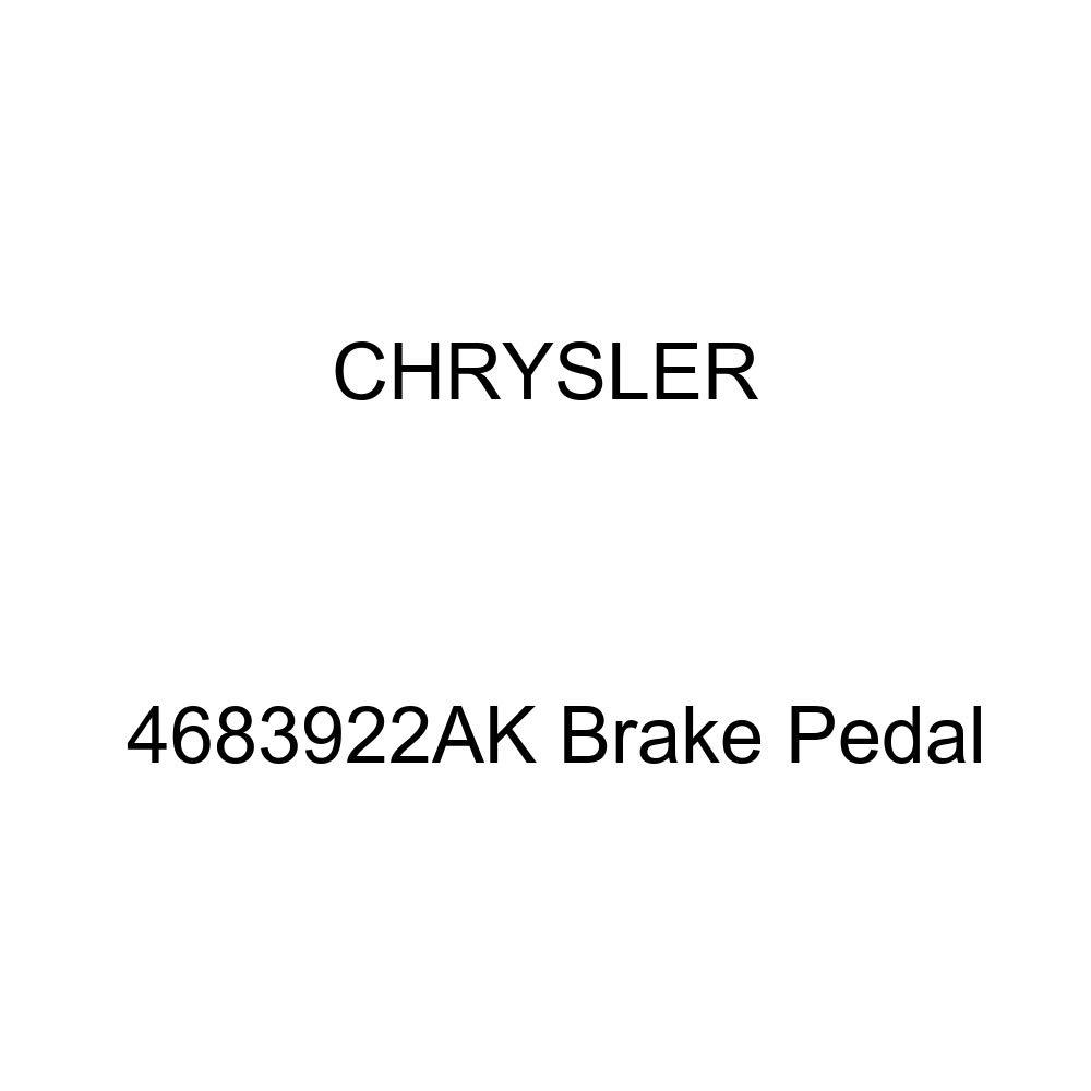 Chrysler Genuine 4683922AK Brake Pedal
