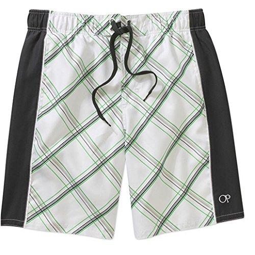 ocean-pacific-op-mens-plaid-splice-swim-shorts-trunks-small-white