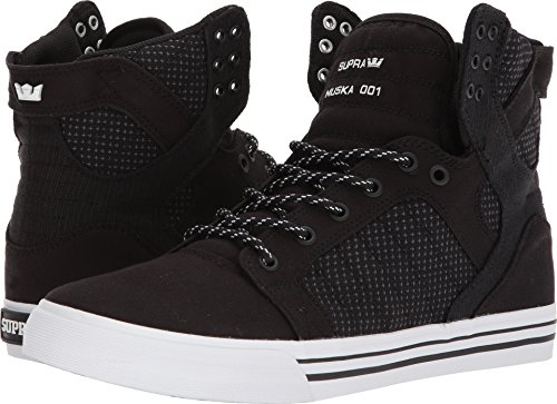 Sneaker Supra Skytop Medium Nero / Grigio Scuro / Bianco