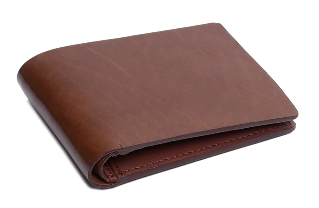 OHM Leather New York Executive Wallet in Cognac Color