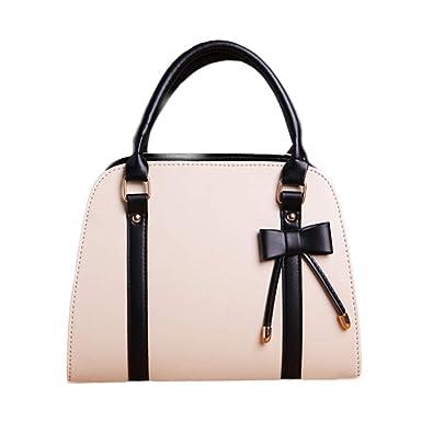 Amazon.com  Women Leather Tote Bags 7f4c493338