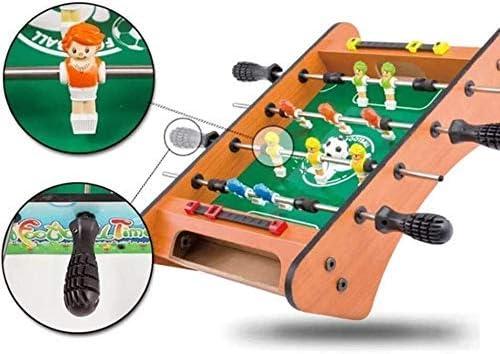 AJH Tafelvoetbaltafel en ballen voor voetbal voor volwassenen, kinderen - Arcade Football Game Room-meubels voor Arcades, Game Room, Bars, Feesten, Family Night