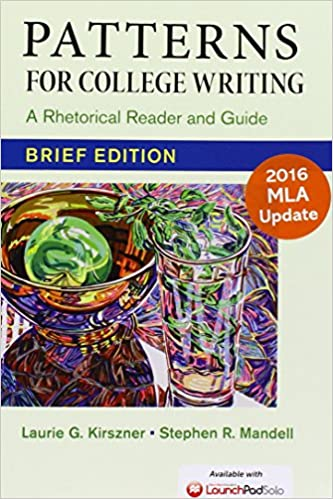 Amazon Patterns for College Writing Brief Edition with 40 Amazing Patterns For College Writing