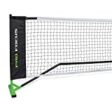 Pro Focus Official Tournament Pickleball Net - Features Weather Resistant Material, Steel Poles- Complete with Convenient Carry Bag