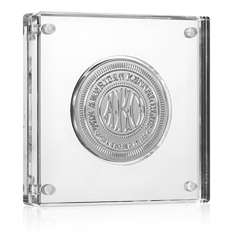 Challenge Coin Display - Holds Coins and Medals up to 2 (2