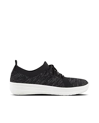 a40047742760 FitFlop Women s Lace Up F-Sporty Uberknit Sneaker