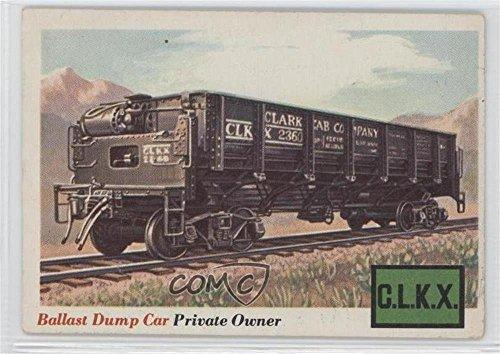 Ballast Dump Car COMC REVIEWED Good to VG-EX (Trading Card) 1955 Topps Rails and Sails - [Base] #10 Ballast Dump Car