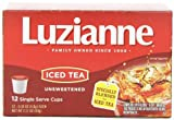 Luzianne Iced Tea, Unsweetened, 12 Count (Pack of 12)