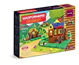 Limited Time Offer on MAGFORMERS Log Cabin 87 Piece Building Set, Multicolor.