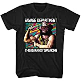 American Classics Macho Man T Shirt Savage Dept Adult Short Sleeve XXL