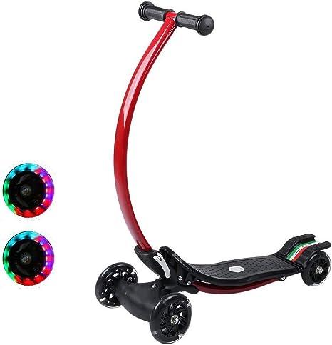 Crity Bicicletas para niños Plegables Kick Scooter con Mecanismo ...