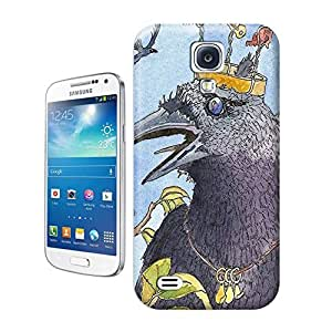LarryToliver You deserve to have limited edition print crazy crow raven crown king For samsung galaxy s4 Cases