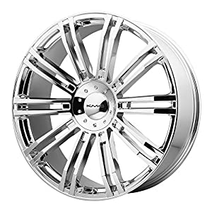 "KMC Wheels KM677 D2 Triple Chrome Plated Wheel (20x8.5""/6x120,139.7mm, +10mm offset)"