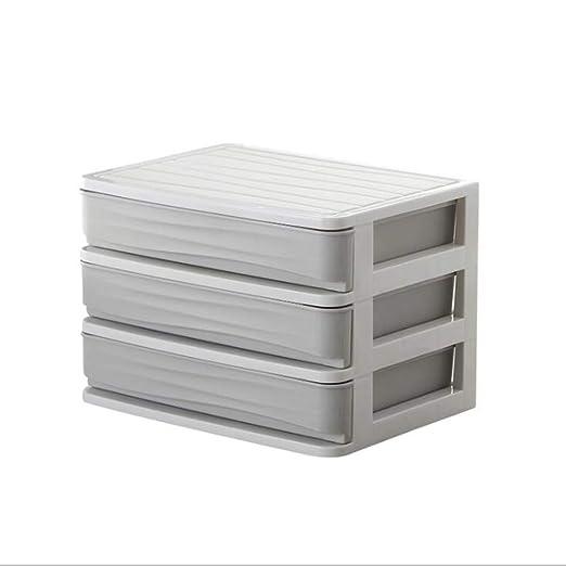 WO FU YOU LHX - Caja de almacenamiento para escritorio, tipo cajón ...