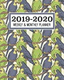 2019-2020 Weekly & Monthly Planner: Academic Planner for Students & Teachers | August 2019 through July 2020 | Schoolwork Calendar with Daily notes ... Checklists | Parrot, Exotic Animals, Birds