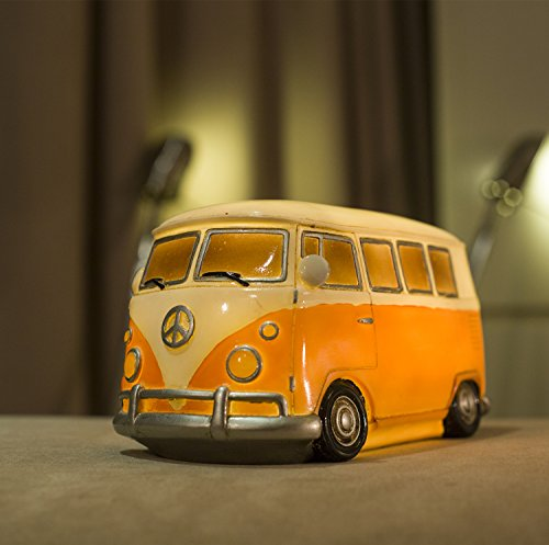 vw camper orange - 4