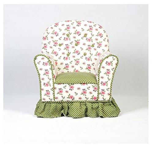 MD Group Kids Sofa Rural Style Canvas & Sponge Lightweight Children Home Furniture