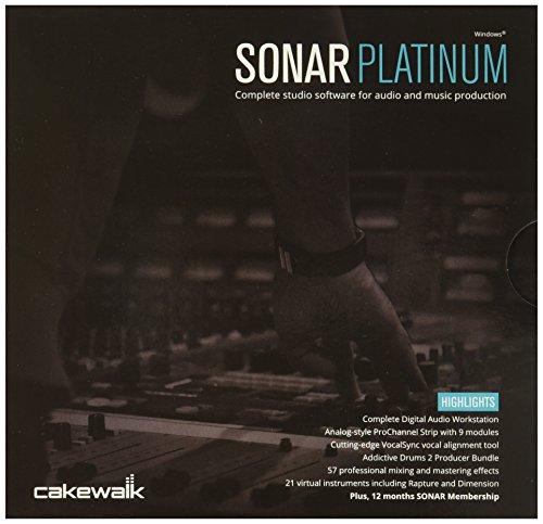 Cakewalk SONAR 10-CSPT1.00-90CI -Channel Multitrack Recording - Cakewalk Sonar Producer