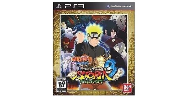 Amazon.com: Naruto Shippuden Ultimate Ninja Storm 3: Full ...