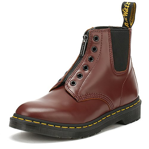 Dr Martens Mens Oxblood Burgundy Vintage 101 GST Boots-UK 11