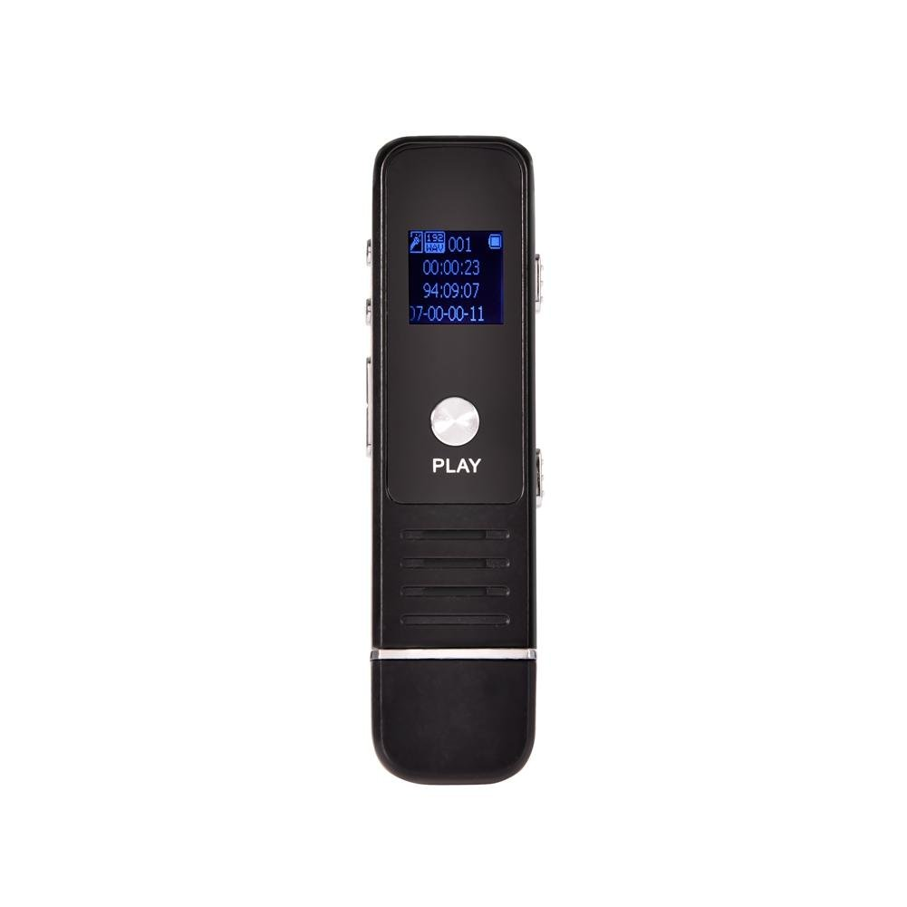 iBaste_S USB Voice Recorder 8GB Multifunctional Digital Voice Recorder Rechargeable Dictaphone, Upgraded Portable Voice Recording Pen Device with Mini Professional Remote HD Noise Reduction Player