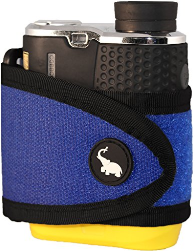 Monument Golf 1005BL Stick It Classic Series Magnetic Rangefinder Strap, Blue