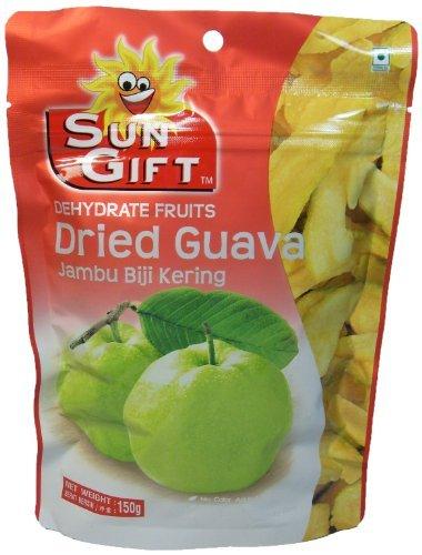 Sun Gift Dehydrate Fruits Dried Guava Jambu Biji Kering 150g by Tong Garden (Image #1)