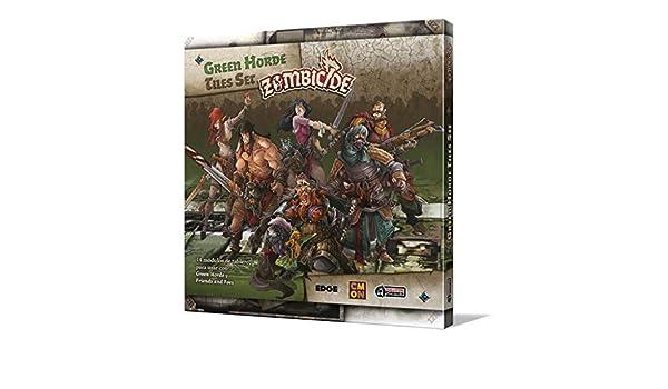 Amazon.com: Edge Entertainment- Green Horde Tile Set, Color ...