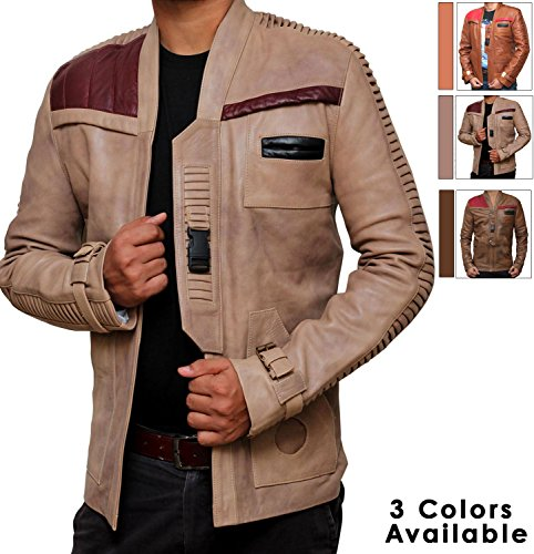 Star Wars Finn Pilot Jacket (M, Antique Beige)