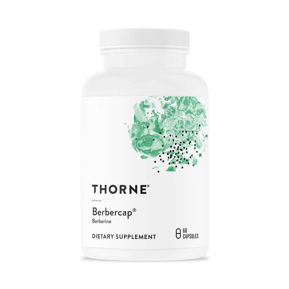 Thorne Research – Berbercap – 200 mg Berberine for GI Support and Immune Function – 60 Capsules
